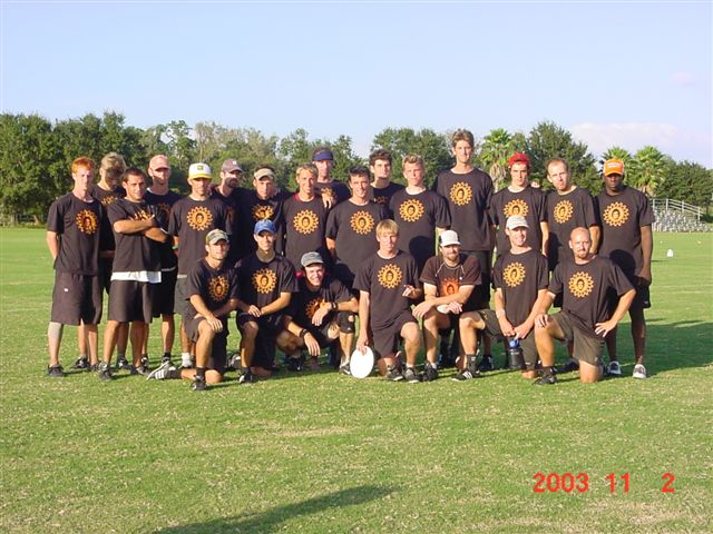 RiNG 2003 team pic